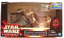 Star Wars Cinema Scene Tatooine Showdown figure set  TPM exclusive MIB 3pk 1017