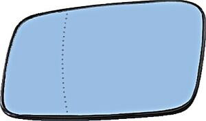 Side Mirror Glass Aspherical Heated LEFT Fits VOLVO 240 850 940 S40 1992-1996