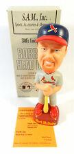 HTF Mark McGwire Grey St. Louis Cardinals Limited Edition SAM Bobblehead