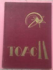 RA307 Vintage 1957-58 Hardcover Military Yearbook Toac 11 Richmond Virginia