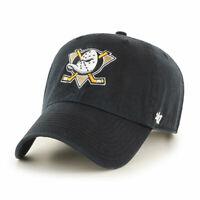 Anaheim Ducks Cap NHL Eishockey 47Brand Kappe Slouch Flach geschnitten