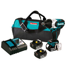 Makita XWT07M 18-Volt 3/4-Inch LXT Lithium-Ion Cordless Drive Impact Wrench Kit