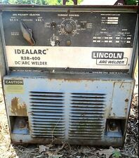LINCOLN IDEALARC MODEL R3R 400 ARC WELDER- 440/460V-Stick