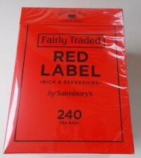 Sainsbury's Red Label 240 Tea Bags750g Long Best Before Date