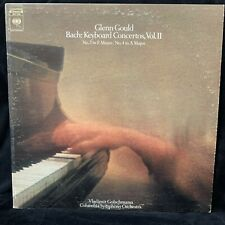 BACH Keyboard Concertos #2 & 4 - GLENN GOULD piano - COLUMBIA MS 7294 - ST LP