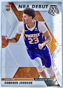 2019-20 Panini Prizm Mosaic Cameron Johnson Rookie Card RC NBA Debut Phoenix Sun
