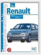 Renault Clio 2 II Reparaturanleitung ab 1995 -PORTOFREI - 9783716819753