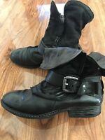 A.S 98 Airstep Boots Stiefeletten schwarz Größe 39 38 38,5