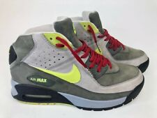 Nike Airmax 90 Boots- Mens- Size 8- Gray Green- [316339-071]- RARE- Nike Boots