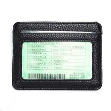 Mens PU Leather Wallet Front Pocket RFID Blocking Slim Mini Card Holder Bag