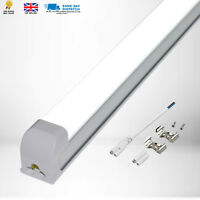 2X 36W 2 in 1,1.2M T8 integrated LED tube Isolated with driver Pure White 3420Lm
