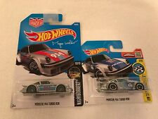 Hot wheels-porsche 934 turbo rsr silver blue & silver rouge (magnus) - moulages