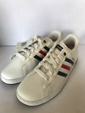Adidas Derby II Boys Trainers White Size 5 Bargain £15 See Pics