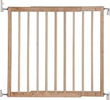 Barrière de sécurité KIM à visser bois de feuillu 65 - 103,5 cm nature escaliers