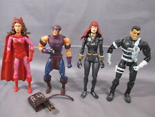 Marvel Legends lot HAWKEYE BLACK WIDOW SCARLET WITCH NICK FURY action figures
