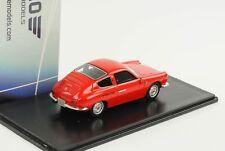 Carlo Abarth 1000 GT monomille 1961 1965 Sibona & Basano rojo 1:43 neo