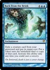 BACK FROM THE BRINK Innistrad MTG Blue Enchantment RARE