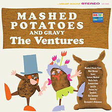 The Ventures ‎– Mashed Potatoes And Gravy on Clear Vinyl LP 2013 NEW/SEALED 180g