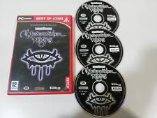 NEVERWINTER NIGHTS FORGOTTEN REALMS PC 2 X CD-ROM ESPAÑOL ATARI