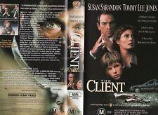 THE CLIENT - Susan Sarandon -VHS - PAL -NEW - Never played! -Original Oz release