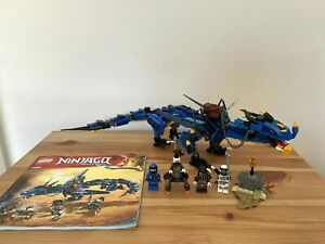 LEGO Ninjago Stormbringer 70652 - Lightning Dragon - Complete & Instructions