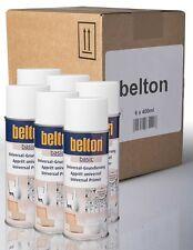 6 x Belton Grundierspray UNIVERSALE BIANCO 0,4l FONDOTINTA sprühlack Vernice Spray