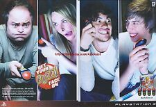 "Buzz Quiz TV ""Get Your Buzz Face On"" 2008 Magazine 2 Page Advert #5018"
