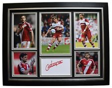 Jonathan Woodgate Signed Framed Autograph 16x12 photo display Middlesbrough COA