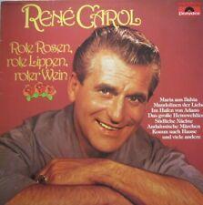RENE CAROL - ROTE ROSEN,  ROTE LIPPEN, ROTER WEIN  -  LP