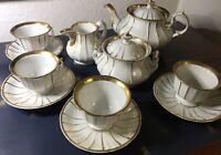 Kaffee-(Tee-)Service, Porzellan, TPM Schlesien, Carl Tielsch, für 4 Personen