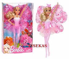 Barbie Fairytale Magic Fashion Flower Fairy Mini 8 in Doll Pink Blonde Hair NEW