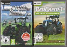 Agriculture S Simulateur 2011 + addon Pro Farm Profarm 1 Collection Jeux PC