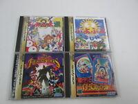 4 games Puyo Puyo Fighting Vipers SET Sega Saturn Japan Ver Segasaturn