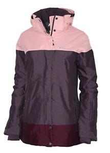 Columbia Women's Snowshoe Mountain Omni Heat Waterproof Hooded Ski Jacket XS