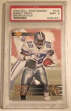 2000 Coll. Edge Graded Emmitt Smith Uncirculated Mint 9 1/5000