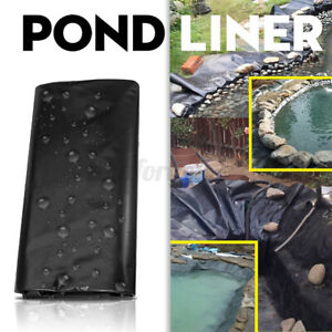 Pond Liner Garden Pool Thickness 0.5mm PE Membrane Fish Reinforced Landscaping