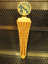 MOTHER EARTH BREWING Co NC ~ Blank ~ Teal Logo ~ Beer Tap Handle