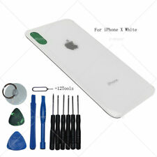 Battery Rear Glass Cover Housing Back Door Replacement For iPhone X Case White