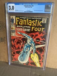 Fantastic Four 72 Silver Surfer CGC 3.0