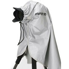 Matin Camera/Lens Rain Snow Cover Silver (S) 180mm for Canon Nikon Sony D-SLR