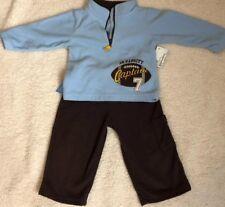 NEW NWT Boys Carter/'s 2 Pc Pull Over Fleece Pant Set 12 Months Bear