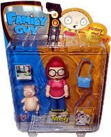 Family Guy Meg Griffin Action Figure MIB Series 2 RARE Mezco Toy SHUT UP, MEG!