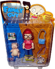 Meg With Kissing Pig Family Guy 5 Inch Figure Series 2 Mezco 2005