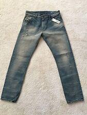 DIESEL Men's Jeans Denim Krayver 0827X SIZE: 29/30 Slim Made In Italy $348