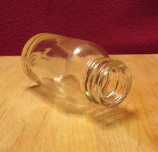 Vintage Medicine Bottle, Made by Pierce Glass Company, Clear, Mid Century