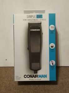 🔥 Conair Man Simple Cut Corded Hair Clippers 🔥 10 Pieces ⚡ Fast Shipping! 🚚💨