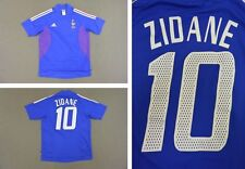 World Cup 2002-04 adidas France Home Shirt Zidane 10 SIZE S (adults)