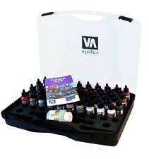 Vallejo BNIB AV Vallejo Game Air Box Set (Plastic Case with 47 Colours) VAL72872