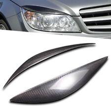 Carbon Fiber Eyebrow Eyelid for Mercedes Benz W204 C180 C200 C300 C350 C63 08-11