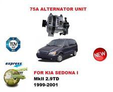 FOR KIA SEDONA I MKII 2.9TD 1999-2001 NEW 85A ALTERNATOR